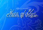 Colors in Vogue: Hues of Blue