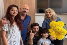 In Pic: Rakesh Roshan is Up and About after Throat Cancer Surgery