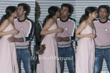 Deepika Padukone and Ranbir Kapoor Bid Goodbye with HUGS and KISSES