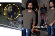 SEE VIDEO: Vicky Kaushal SPOTTED on a dinner date with a MYSTERY WOMAN