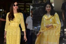 Sonam Or Janhvi, Which Kapoor Girl Is Rocking This Yellow?