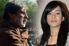 Amrita Rao's big moment: Sharing screen with Big B