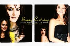 Happy Birthday Preity Zinta & Amrita Arora!