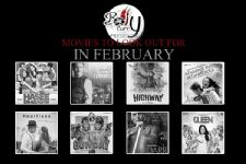 Upcoming movies: February