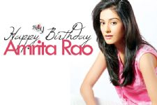 Happy Birthday Amrita Rao!