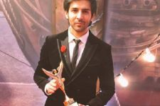Kartik Aaryan ecstatic with first award