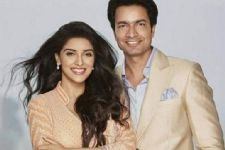 Asin's Wedding Card is Gold-embossed!