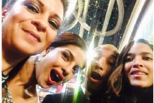 Priyanka Chopra takes selfie with Pharrell William