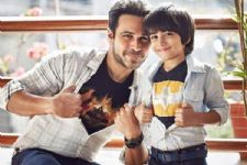 Emraan's son sends 'Thank You' note to B-Town for 'The Kiss Of Life'