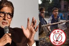 Don't employ little ones: Big B
