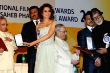 Big B, Kangana win top honours at 63rd National Film Awards