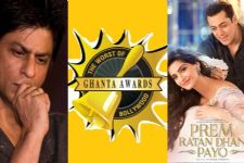 Prem Ratan Dhan Payo named Worst Film,SRK Worst Actor at Ghanta Awards