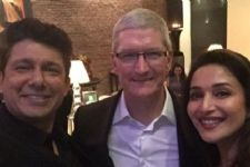 Madhuri Dixit Nene loved meeting Tim Cook