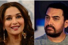 What made Madhuri chase Aamir with hockey stick?