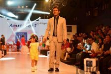 Nawazuddin Siddiqui walks the ramp for kids fashion show