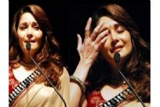 Madhuri Dixit BREAKS DOWN on TV set!
