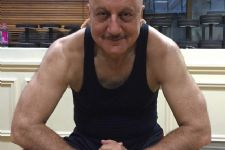 Check out who is Anupam Kher's fitness inspiration