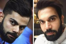 Rajkumar looks like Virat Kohli in this look