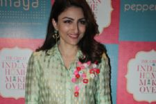 Soha shoots with Sharmila Tagore for TV show