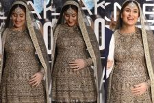 SPOTTED: Was Kareena Kapoor talking to her BABY while on the ramp