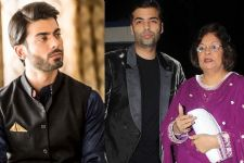 Fawad Khan's CONNECTION with Karan Johar's Mom