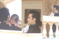 FIRST PIC of Tusshar Kapoor with his Baby out now