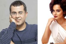 Chetan Bhagat has his eyes set on Kangana Ranaut!