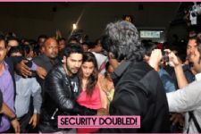 Alia - Varun are not SAFE?  Security DOUBLED!