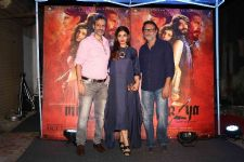 Indian accent hosts team MIRZYA