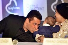 In Pics: Salman Khan's cute pictures with his Mom and Baby Ahil