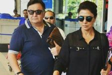 Rishi Kapoor- Neetu Singh face a TOUGH time at the airport!