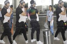 SPOTTED: Shahid Kapoor takes baby Misha on a trip