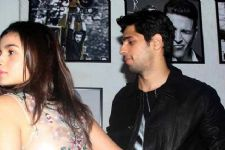 Sidharth Malhotra secretly visited Alia Bhatt's new house