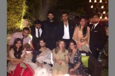 Sonam Kapoor poses with her BOYFRIEND at a family function!