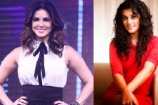 Sunny Leone, Taapsee Pannu promote breast cancer awareness