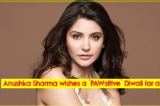 Anushka Sharma wishes a 'PAWsitive' Diwali for all