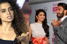 FINALLY! Kangana Ranaut REACTS to Ranveer & Alia's COMMENT