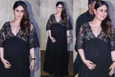 Ahead of delivery, Heavily pregnant Kareena spotted with Saif Ali Khan