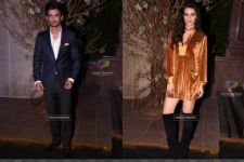 Sushant Singh Rajput and Kriti Sanon got cozy at a party!