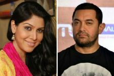 Aamir Khan has a child-like enthusiasm: Sakshi Tanwar
