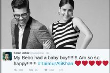 KJo & Sonam Kapoor express their joy on Kareena's motherhood!