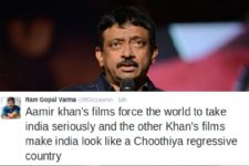 RGV's SARCASTIC PRAISE for Aamir on Dangal, lashes out at other Khans!