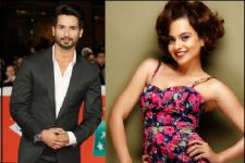 Shahid Kapoor REFUTES rumours of issues with Kangana Ranaut!