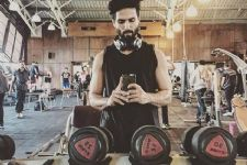 Shahid follows strict diet, workout for 'Padmavati'