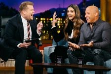 James Corden matches steps with Deepika Padukone