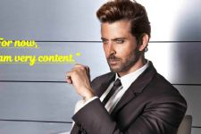 You don't know what the future holds: Hrithik on RE-MARRIAGE!