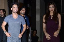 Sushant Singh Rajput parties with Kriti Sanon on his 31st birthday!