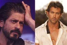 Shah Rukh Khan gives a plain, straightforwards reply to Hrithik Roshan