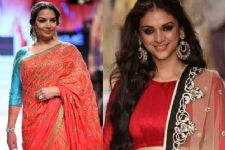 Shabana Azmi & Aditi Rao Hydari rules the runway for Kotwara