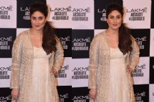 Kareena Kapoor Khan shimmers in gold at LFW grand finale